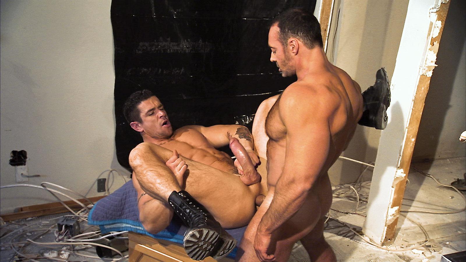 gay sex in steaming room