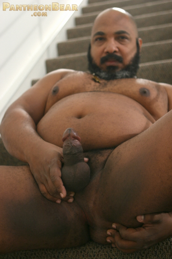 from Brice fat black gay man