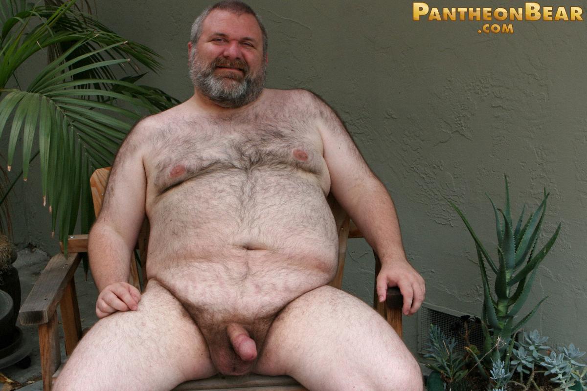 Толстый голый мужик порно фото