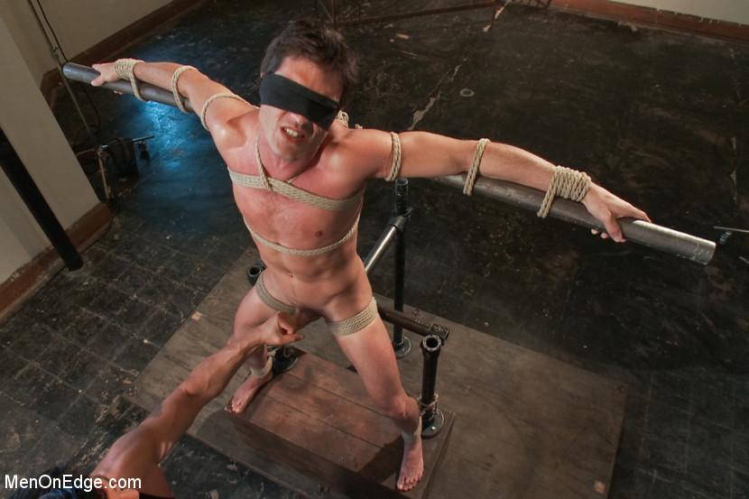 Man in sex bondage