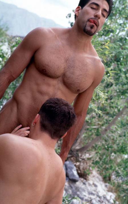 Threesome gay latinos goes to anal sex 5