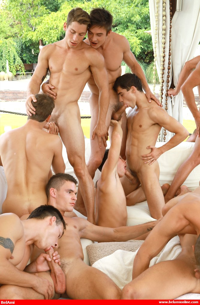 Hot boy orgy