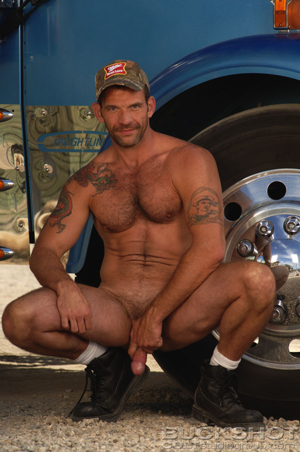 from Aiden gay truckers naked muscle men