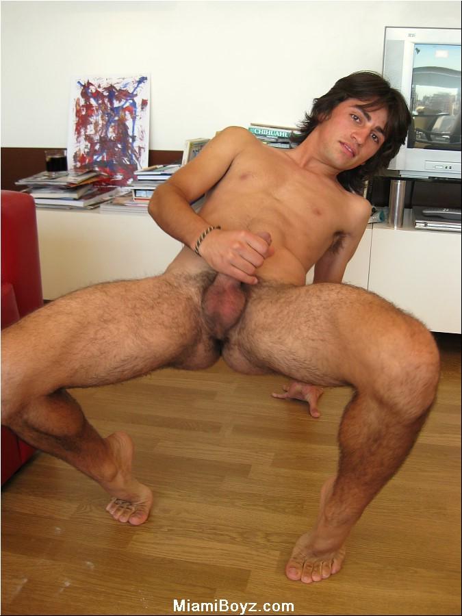 Nude longhair male