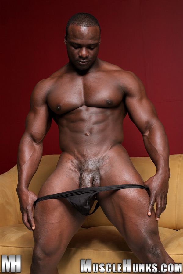 two black gay muscle