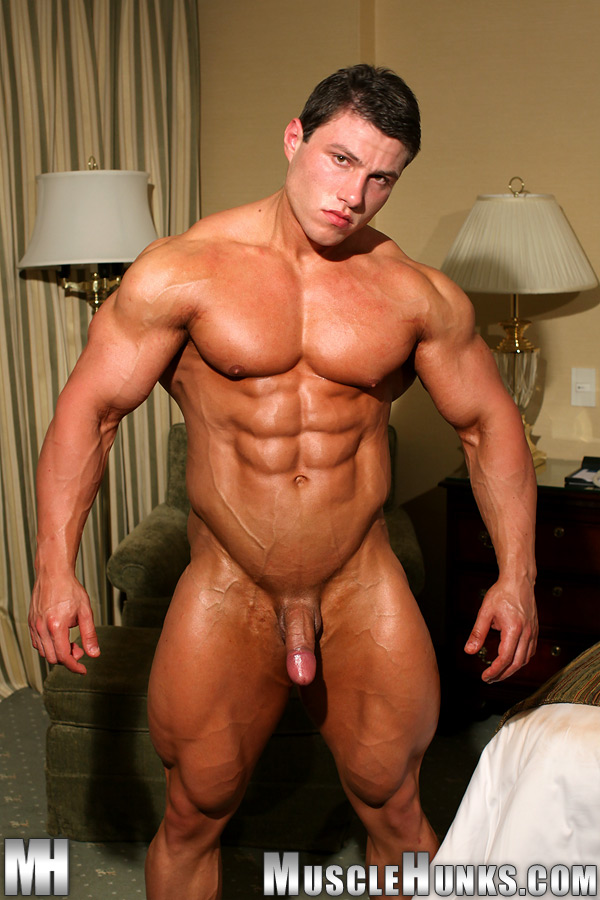 gay hunks cock muscle