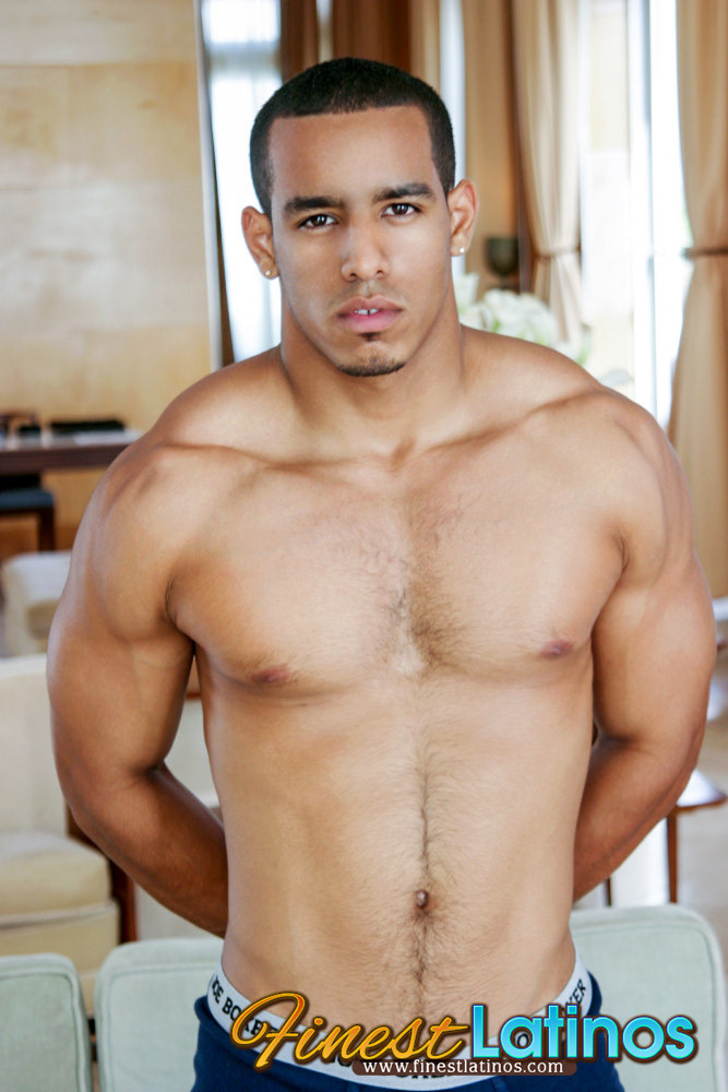 hot latino stud joey jerking off