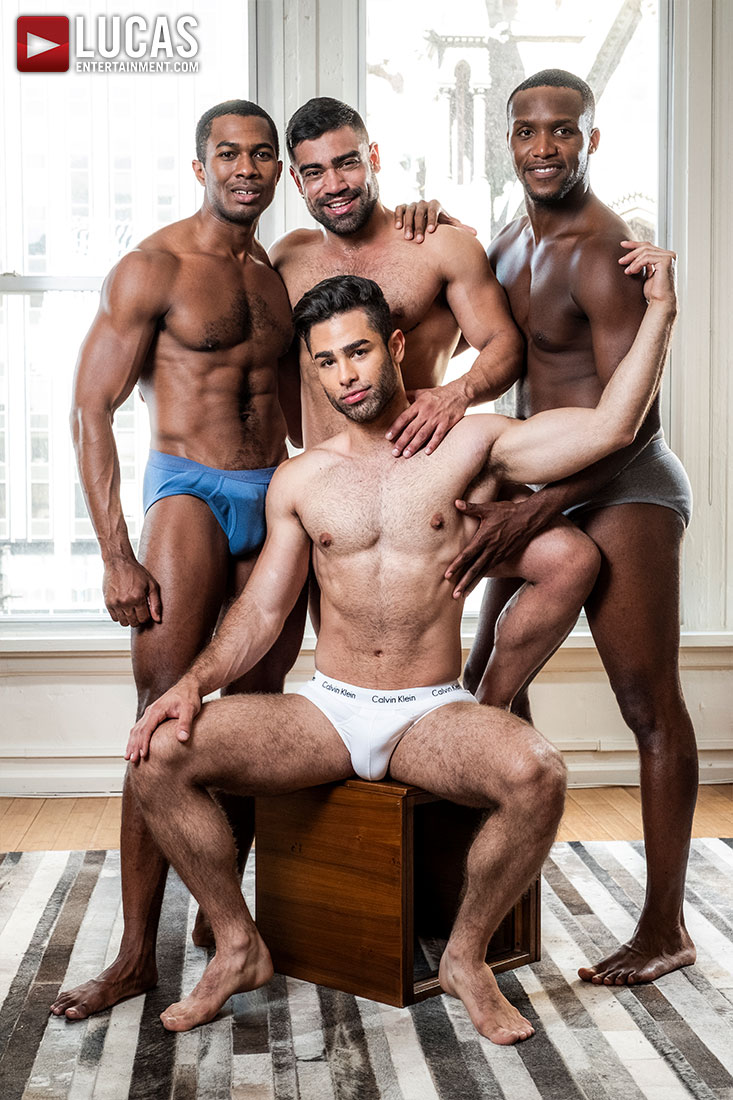 Andre Lucas Porn Gay sean, andre, wagner, and lucas swap partners