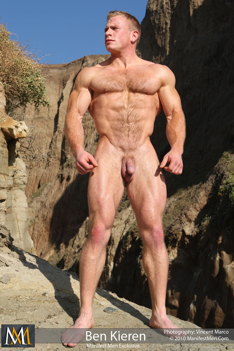 Hunk hairy blonde