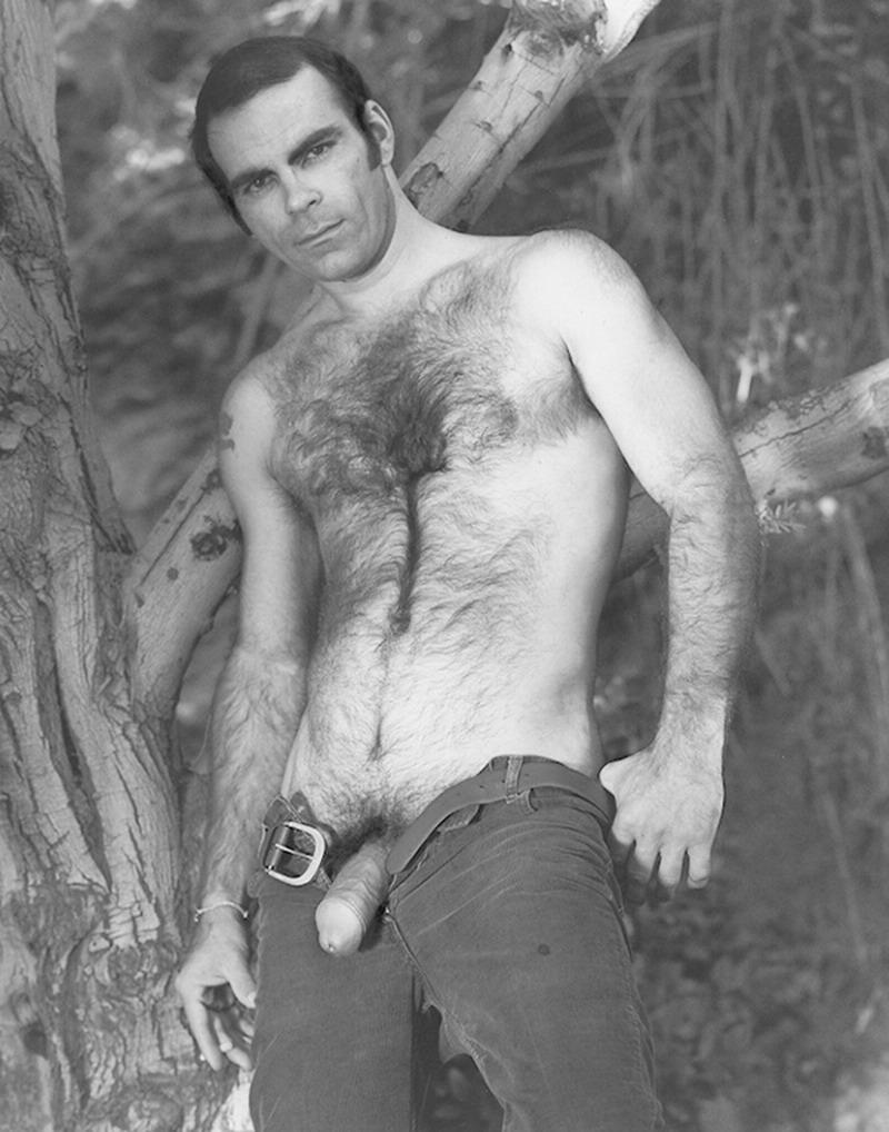 vintage hairy men