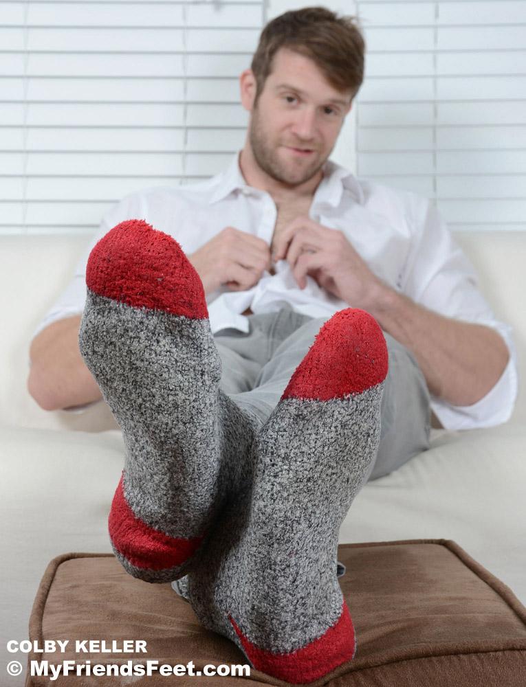 Fetish wool sock